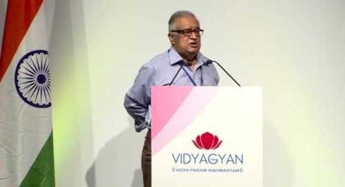 Mr. TSR Subramanian's address at VidyaGyan Graduation Day | August 4, 2016