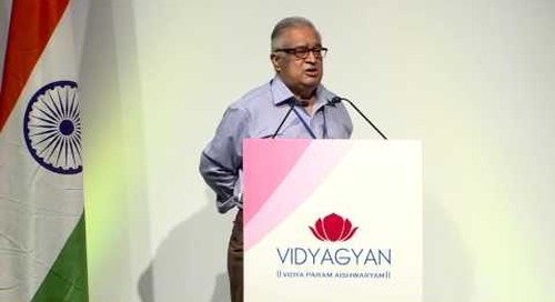 Mr. TSR Subramanian's address at VidyaGyan Graduation Day | August 4, 2016