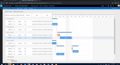 Q&A Series: If I manually change something in the Gantt chart with it affect jobs in D365 FO