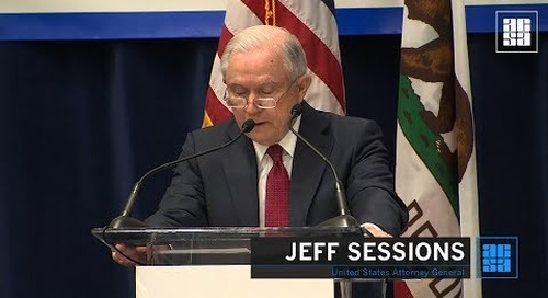 ACSA News: AG Sessions Announces Federal Lawsuit over 'Sanctuary Cities'