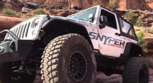 Snyper Jeep Moab Day 1