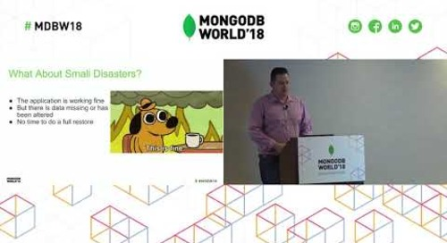 Solving Your Backup Needs Using MongoDB Ops Manager, Cloud Manager and Atlas
