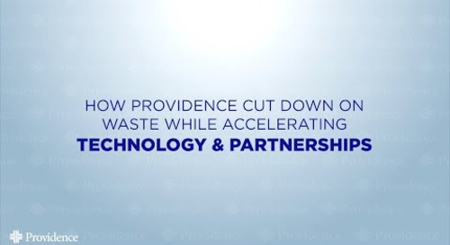 BJ Moore - The Future Of Healthcare - How Providence Cut Down On Waste