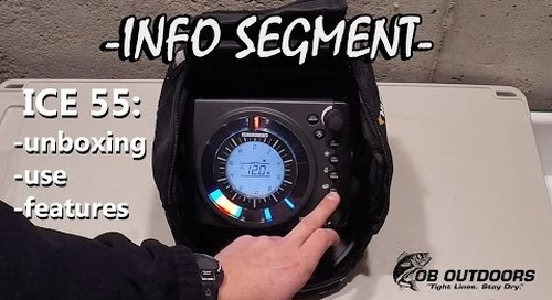 Humminbird Ice 55 Unboxing - Use - Explained