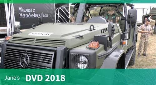 DVD 2018: Mercedez-Benz fleet of military trucks