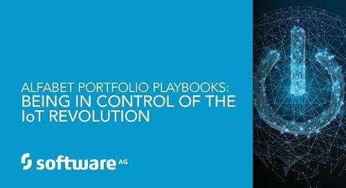 Alfabet Portfolio Playbook: Being in Control of the IoT Revolution