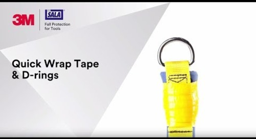Increase strength and resistance with 3M™ DBI-SALA® Quick Wrap