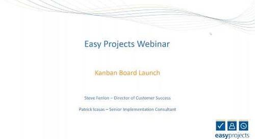 Kanban Launch Webinar