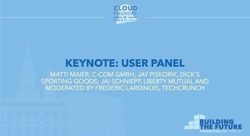 Keynote: User Panel