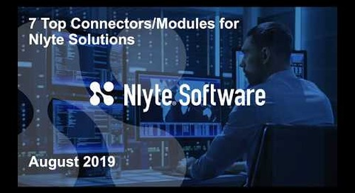 7 Most Popular Connectors and Modules for Nlyte solutions