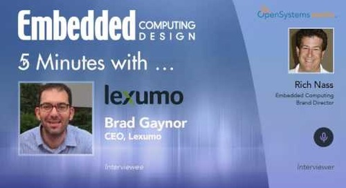 Five Minutes With…Brad Gaynor, CEO, Lexumo