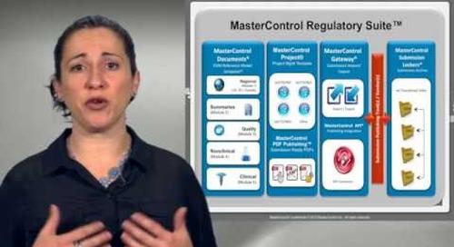 MasterControl Regulatory Suite Preview