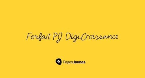 Forfaits PJ DigiCroissance