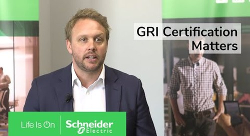 Sustainability Reporting: GRI Certification Matters   Schneider Electric