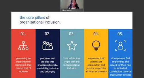 inclusive leadership during times of crisis | talent continuity learning series.