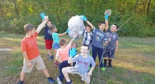 The Read, Run, Recycle, Refine Program at Brooklyn Elementary School