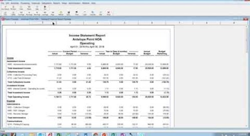 Scenario Recording 1   Financial Report Review