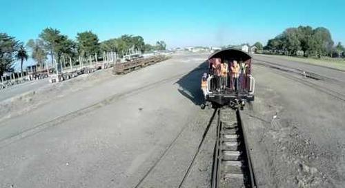 WA165 Gisborne Steam Train.