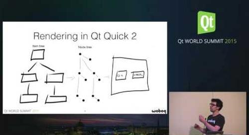 QtWS15- Using the Qt Quick Scene Graph API, Jocelyn Turcotte, Woboq GmbH