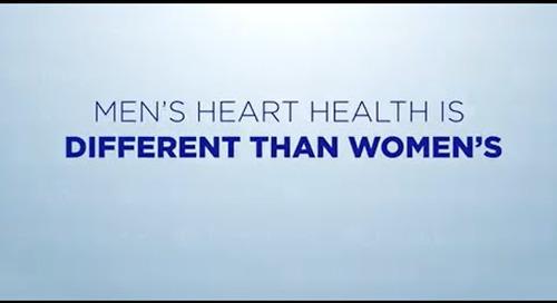 Men's Heart Health - Men's Health Is Different From Women's Health