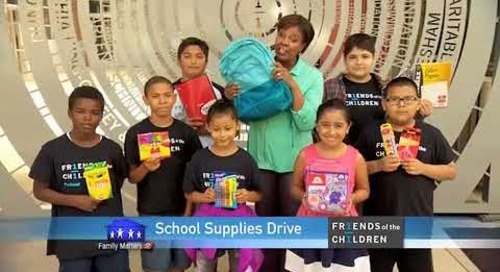 Providence KATU Family Matters Aug 2017 30 School Supplies Drive