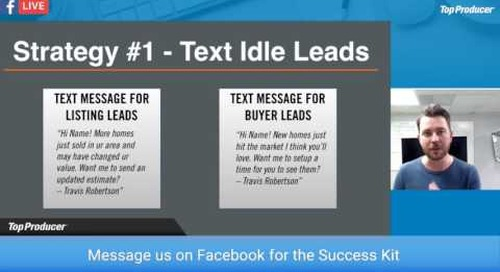 3 Instant Client-Getting Strategies: Text and Call Idle Leads