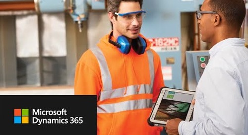 Painless resource scheduling with Microsoft Dynamics 365 for Field Service