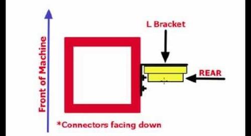 11. Trimble DPS900 V1.2 - Sensor Setup: Configuring Tilt Sensor and Determining Mounting Location