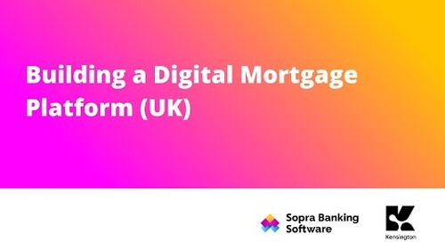 In this webinar we talk about Kensington's business, their strategy and their new Digital Mortgage Platform.