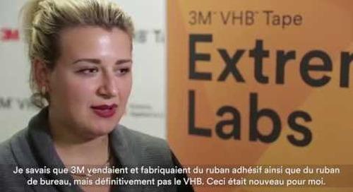 Laboratoire 2015 de recherches extrêmes sur le ruban adhésif VHB(MC) de 3M(MC)