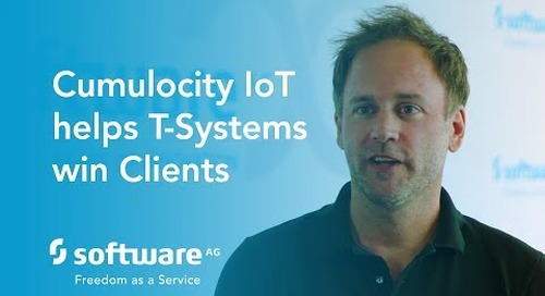 Cumulocity IoT helps T-Systems win Clients