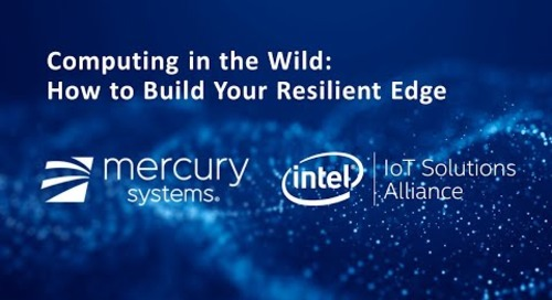 Webinar:  Computing in the Wild: How to Build Your Resilient Edge