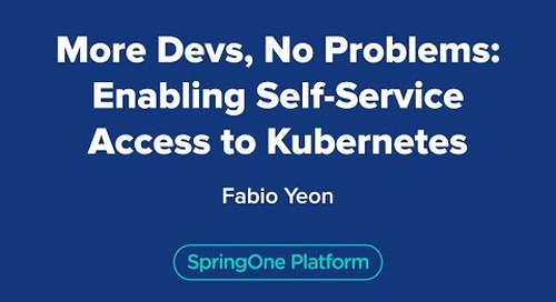 More Devs, No Problems: Enabling Self-Service Access to Kubernetes