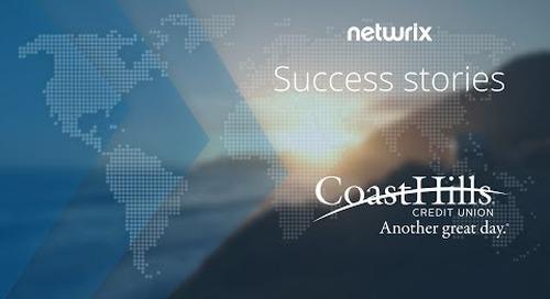 Netwrix Customer Success - CoastHills Credit Union