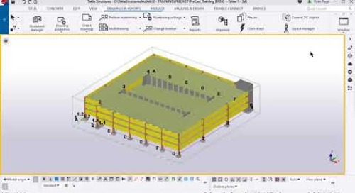 Tekla Structures Numbering for Precasters