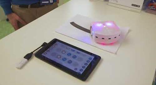 Thymio Mobile Robot Built with Qt, ETH Zürich