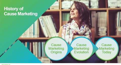 Blackbaud Webinar: Toolbox for Cause Marketing: What You Need to Get Started