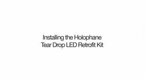 Tear Drop LED II Retrofit Installation Demo