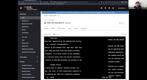 How to get started with Kubernetes on CockroachDB | k8s Operator
