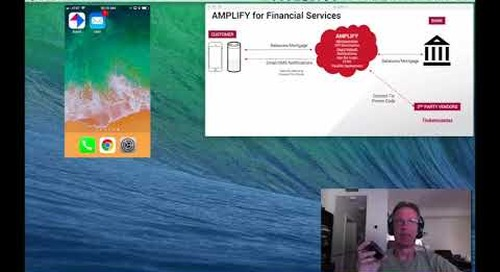 Demo | Using AMPLIFY to enhance financial services with Amazon Alexa and smartphones