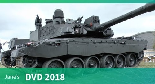 DVD 2018: BAE Systems' Challenger 2 demonstrator - Black Night