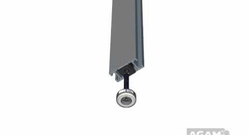 AGAM Leveler and Plastic Insert Set 354 02 using Extrusion PH 1005