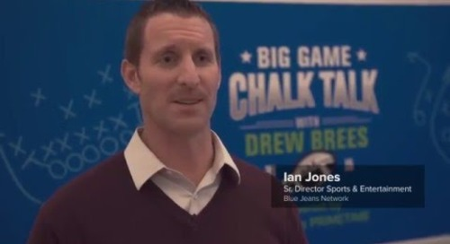 Behind the Scenes: Big Game Chalk Talk with Drew Brees