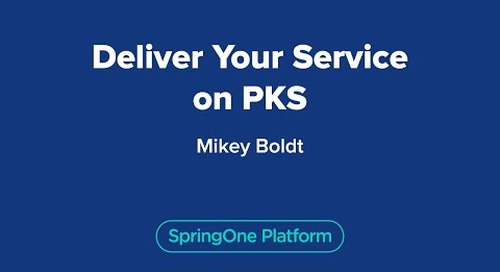 Deliver Your Service on PKS