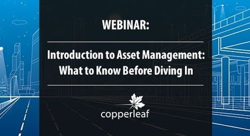 Webinar: Introduction to Asset Management — What to Know Before Diving In