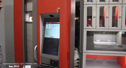 Small Parts Vending Machine Weight-Based Automated Inventory Management