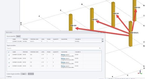 Tekla Structures Batch Editor