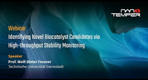 Identifying novel biocatalyst candidates via high-throughput stability monitoring