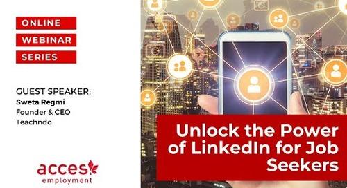 Unlock The Power of LinkedIn for Job Seekers