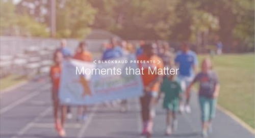 Blackbaud Presents–Moments that Matter: Charleston Promise Neighborhood
